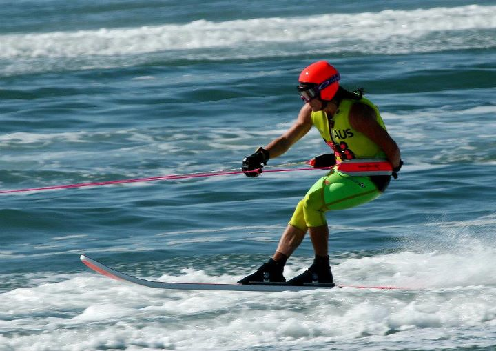 Leanne Campbell Water Skiing