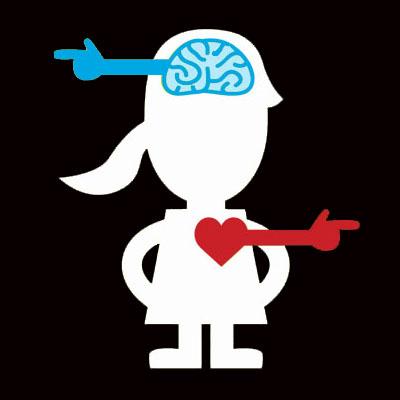 split heart brain